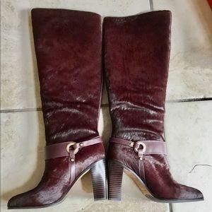 Donald Pliner Hair Calf Boots -  Brand New